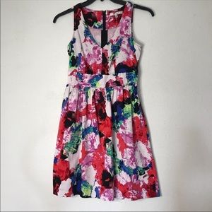 Milly Rosabella Combo Watercolor Sundress